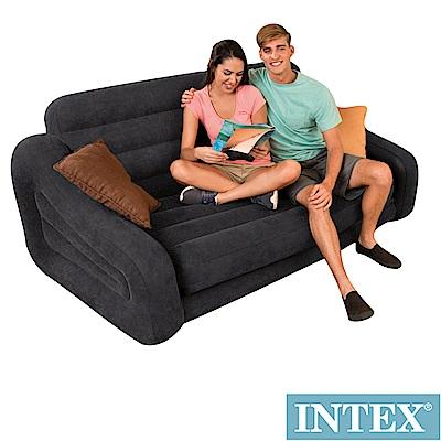 INTEX 二合一雙人超大充氣沙發床 (68566)