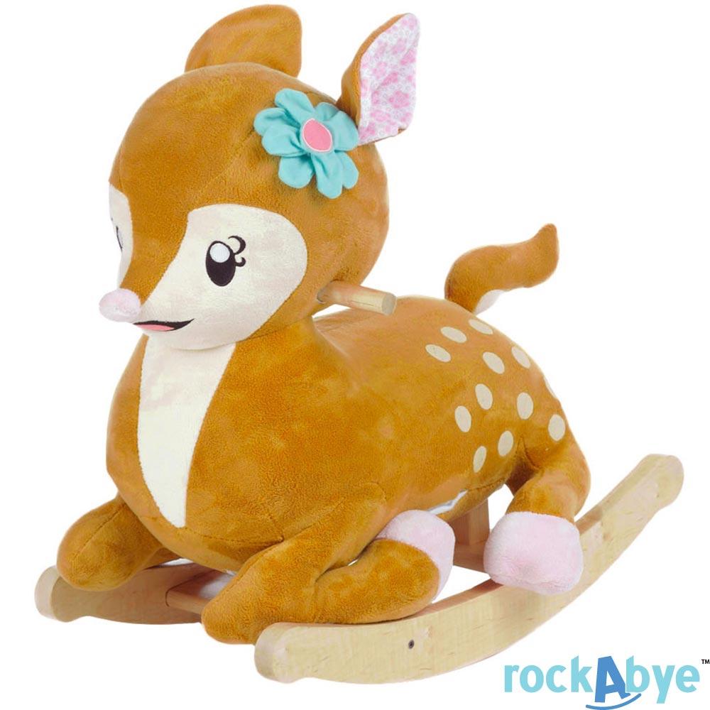 Rockabye 美國音樂搖滾玩偶搖椅 小鹿款