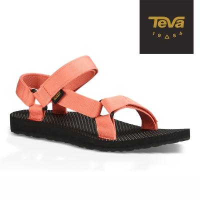 TEVA 美國 女 Original Universal 運動涼鞋 (珊瑚紅)