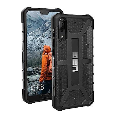 UAG Huawei P20 耐衝擊保護殼-透黑
