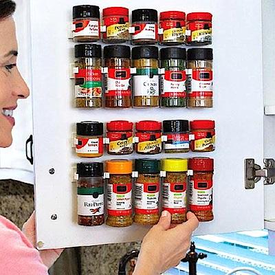 Conalife可任意裁剪廚房調味瓶置物架(2盒) 24.5x2.3x4cm