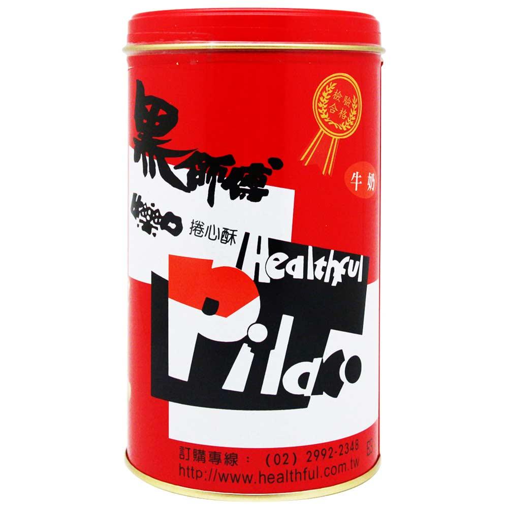 (活動)臺灣威化 黑師傅捲心酥-牛奶(400g)