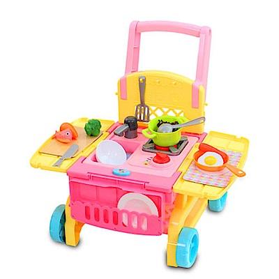 MIMI World - 2in1可愛廚房手推車