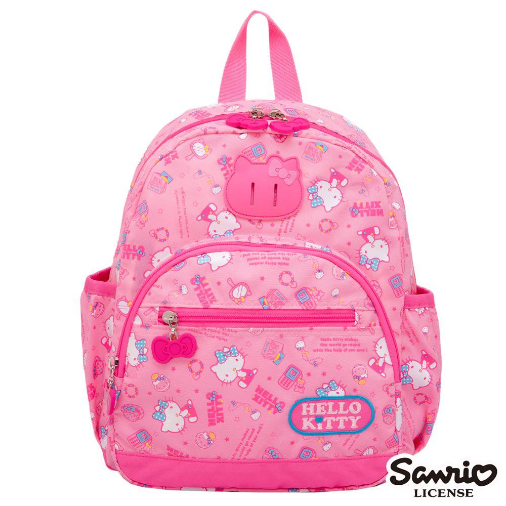 Hello Kitty 休閒潮流Ⅱ小後背包-粉紅KT88B01PK