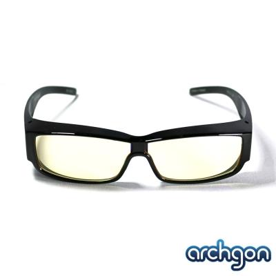 archgon亞齊慷 濾藍光全罩式眼鏡 GL-B301-Y