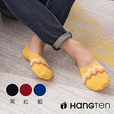 【HANG TEN】設計款隱形襪4雙入組_男(HT-A11008)_4色隨機出貨