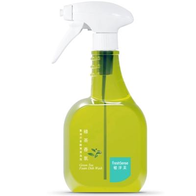 植淨美 草本重油汙食器清潔泡泡550ml -綠茶香氛/瓶