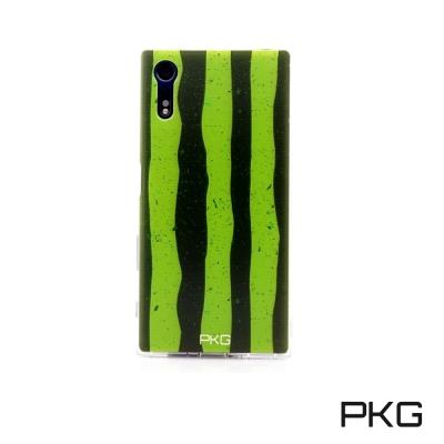 PKG SONY XZ/XZS  彩繪空壓氣囊保護殼-浮雕彩繪-西瓜手機殼