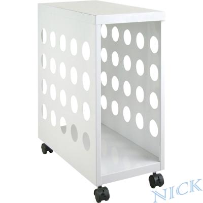 NICK 雪白色粉體烤漆鋼製主機櫃