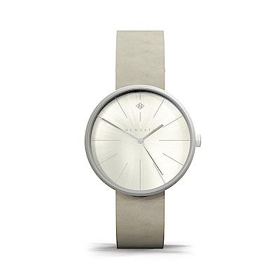 Newgate-NEW YORK-星空灰-皮革錶帶-40mm