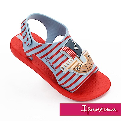 Ipanema 童話世界寶寶休閒涼鞋 -紅色/藍色