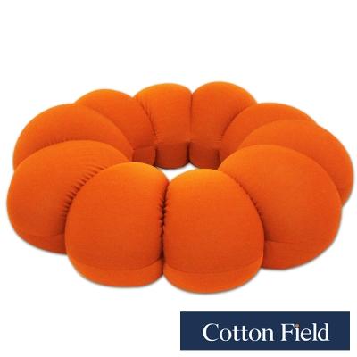 棉花田-米其林-超大甜甜圈可變身立體胖胖墊-活力橘