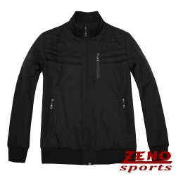 ZENO 保暖外套都會時尚設計款‧黑色