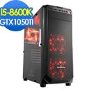 華碩Z370平台[海嘯魔神]i5六核GTX1050TI獨顯SSD電玩機