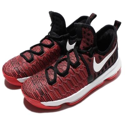 Nike-籃球鞋-Zoom-KD-9-GS-全氣墊-女鞋