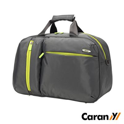 CARANY卡拉羊 23L 拉桿套環 休閒大容量輕量旅行袋 行李袋(深灰)58-0010