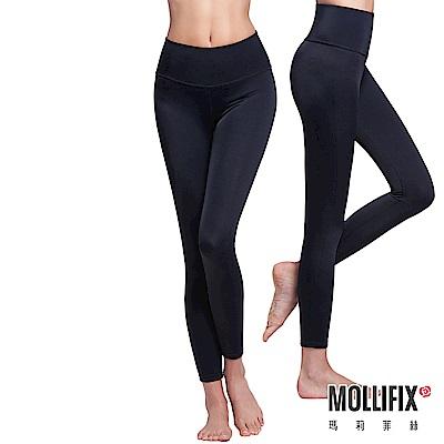 Mollifix瑪莉菲絲 極暖抗寒BABY絨塑身褲兩件組