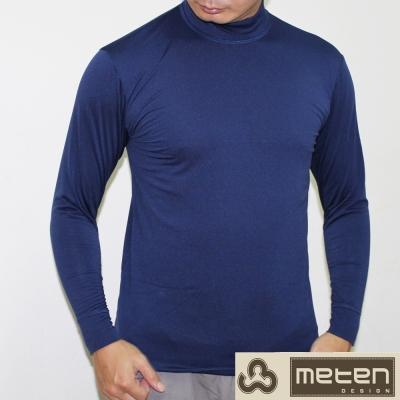衛生衣 精典時尚彩色內刷毛高領衛生衣 5件組METEN