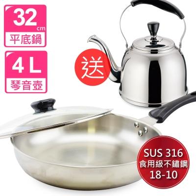 頂尖廚師Top-Chef-經典316不鏽鋼複合金平