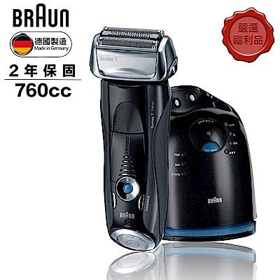 (福利品)德國百靈BRAUN-7系列智能音波極淨電鬍刀760cc