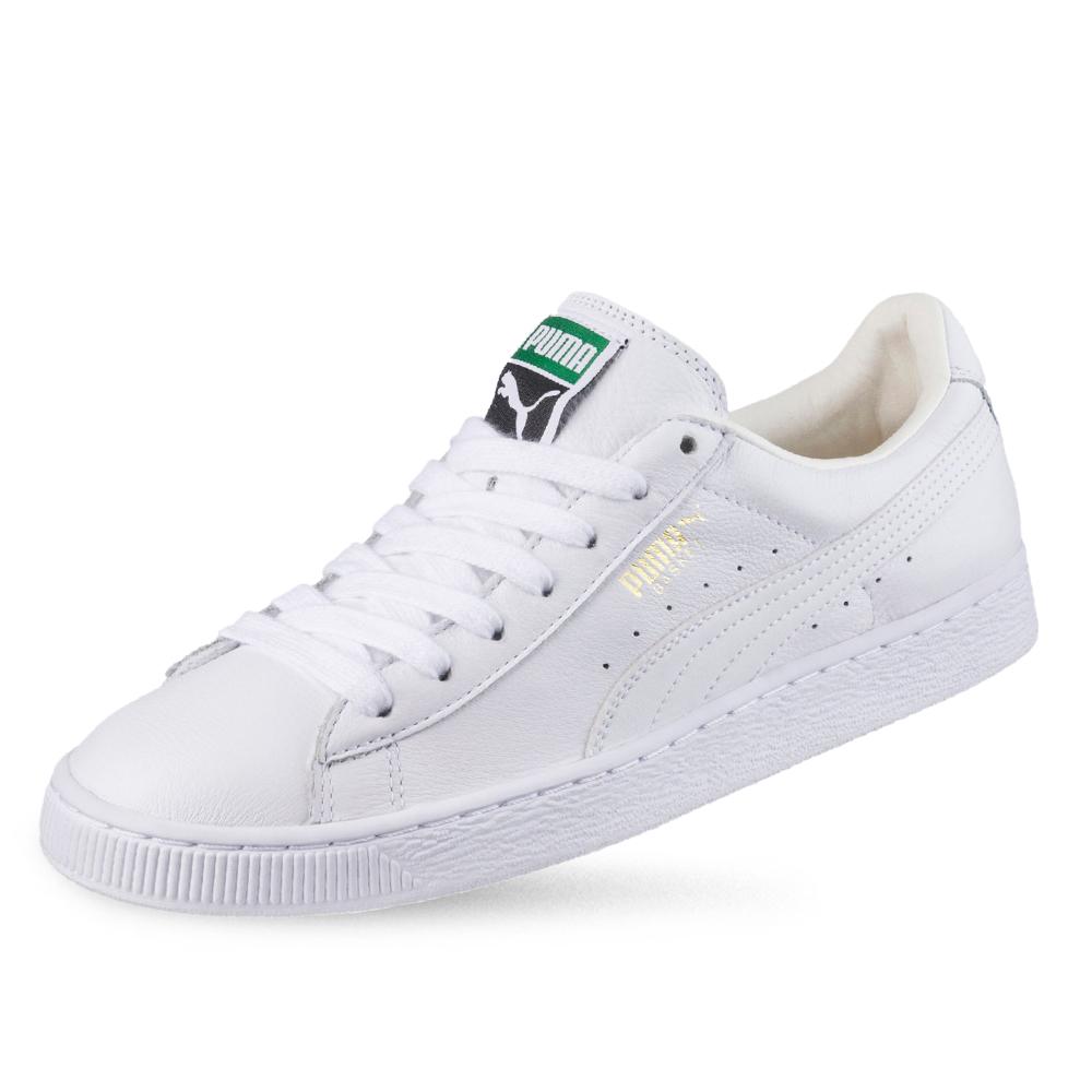 PUMA】PUMA Basket Classic LFS 男女復古籃球運動鞋 白色