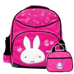 Miffy 米菲護脊後背包(1+1)便當袋MI3