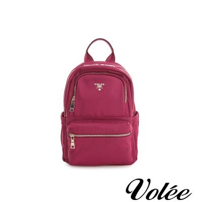 Volee飛行包 -  輕旅行平板後背包(小) - 美國紅