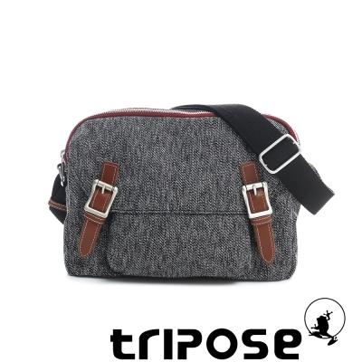tripose 岩紋系列岩紋潮感機能斜背包 紅色