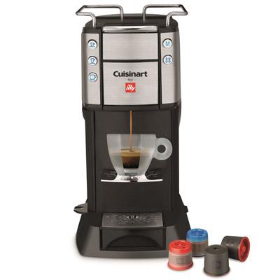 美膳雅-Cuisinart-Espresso-膠囊咖啡機-EM-400TWBK