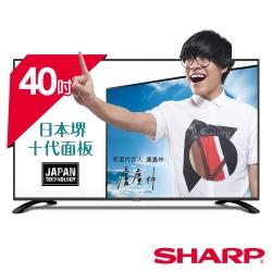 SHARP夏普 40吋 FHD 智慧連網液晶顯示器