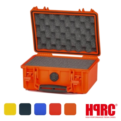 義大利 HPRC 2100C 頂級防撞硬殼箱-內泡棉式(公司貨)-橘色