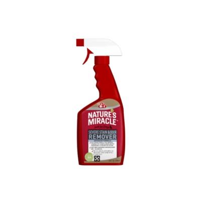 美國8in1 自然奇蹟-狗用活氧酵素去漬除臭噴劑(清新香味) 24oz 2入組