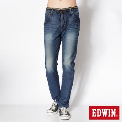 EDWIN AB褲 迦績褲JERSEYS針織3D牛仔褲-男-石洗綠