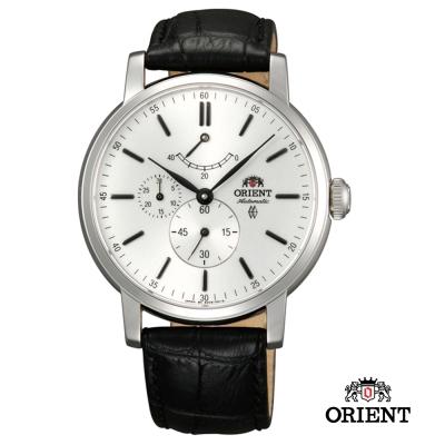 ORIENT 東方錶 POWER RESERVE系列 藍寶石機械錶-白色/41mm