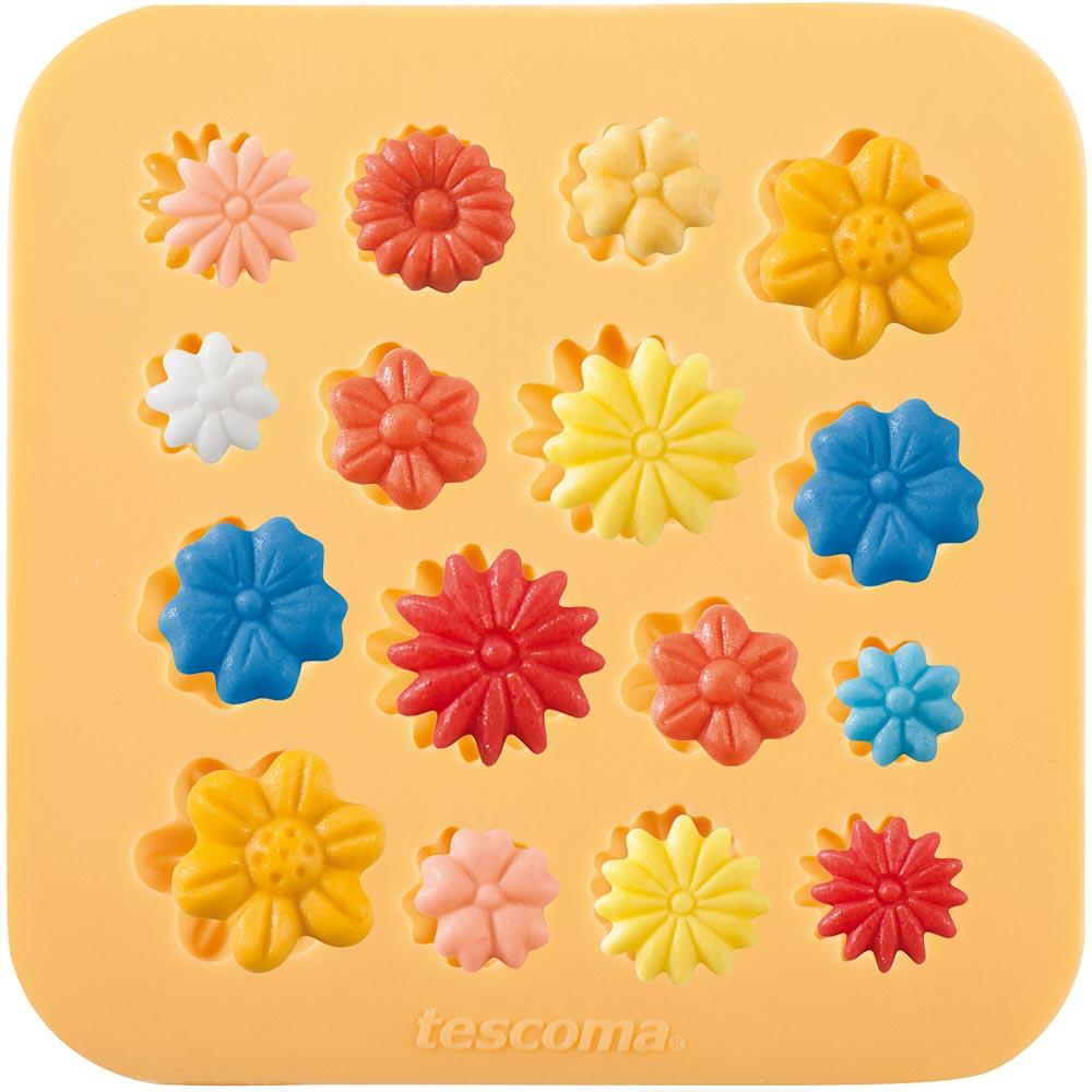 TESCOMA 矽膠翻糖壓模(花朵)