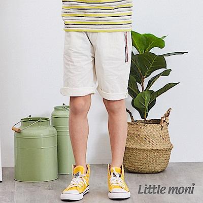 Little moni 休閒素面五分褲 (3色可選)