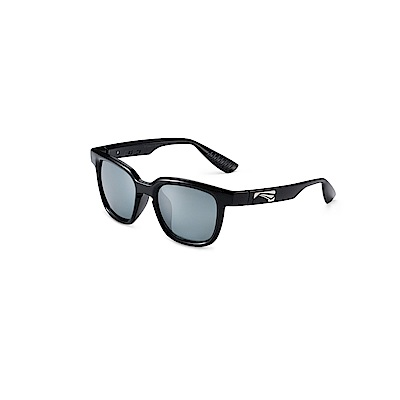Lip Sunglasses-JAZZ 時尚偏光太陽眼鏡經典黑