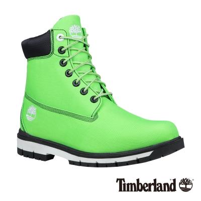 Timberland 七武士系列男款青綠色六吋帆布靴