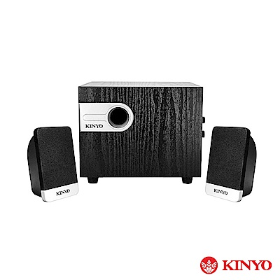 KINYO 2.1聲道木質喇叭(KY-1701)