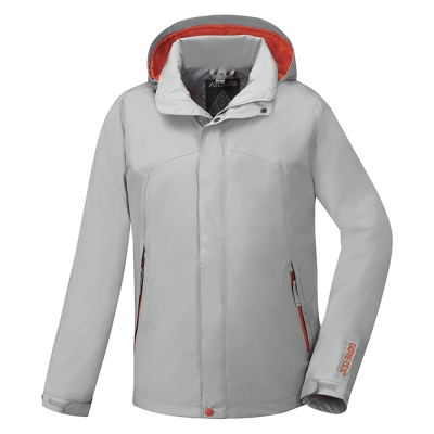 歐都納 GORE-TEX 男款防風防水單件式外套 A-G1657M 時尚灰