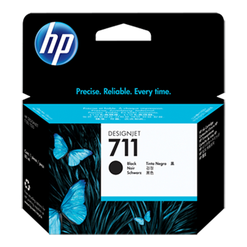 HP CZ133A   NO.711 原廠黑色墨水匣