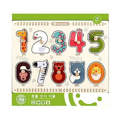 (經典木玩)動物數字學習拼圖(3Y+)