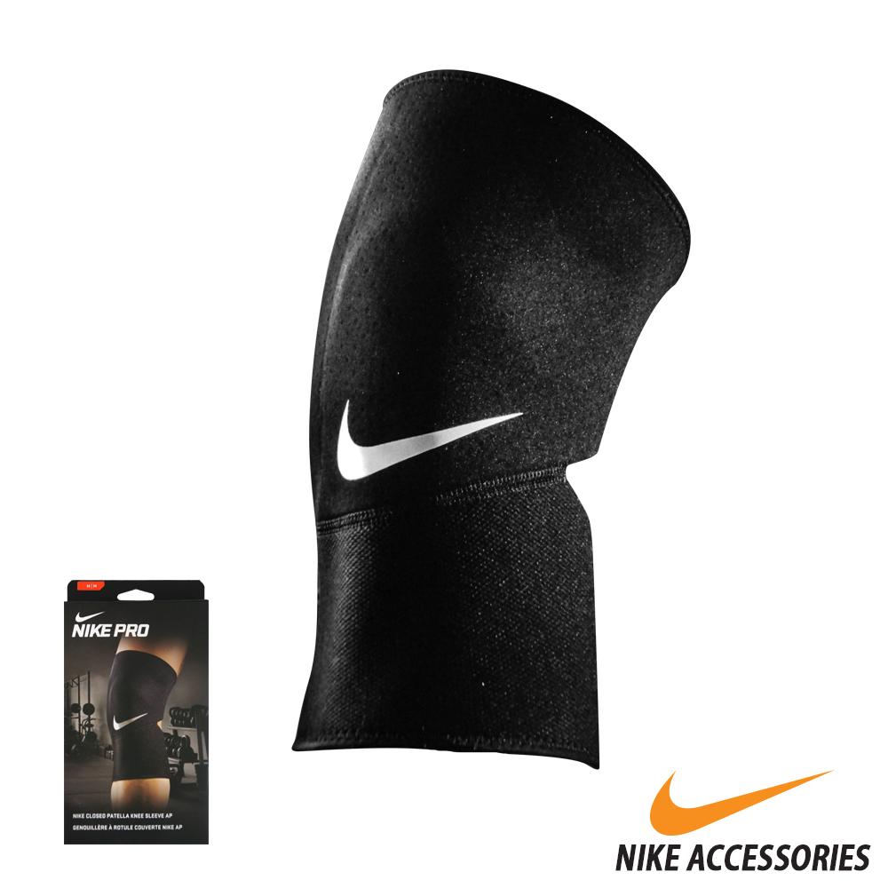 NIKE PRO 護膝套2.0(亞規) (黑/白) (XL)