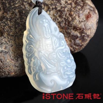 石頭記 文殊菩薩項鍊-白玉髓(生肖兔)
