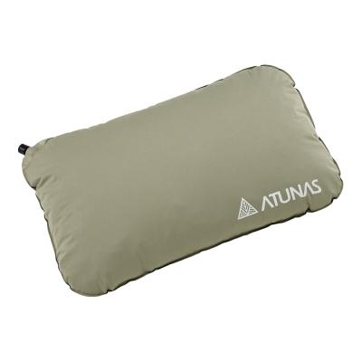 【ATUNAS 歐都納】露營自動充氣枕頭不規則1入 PI-103R(顏色隨機)