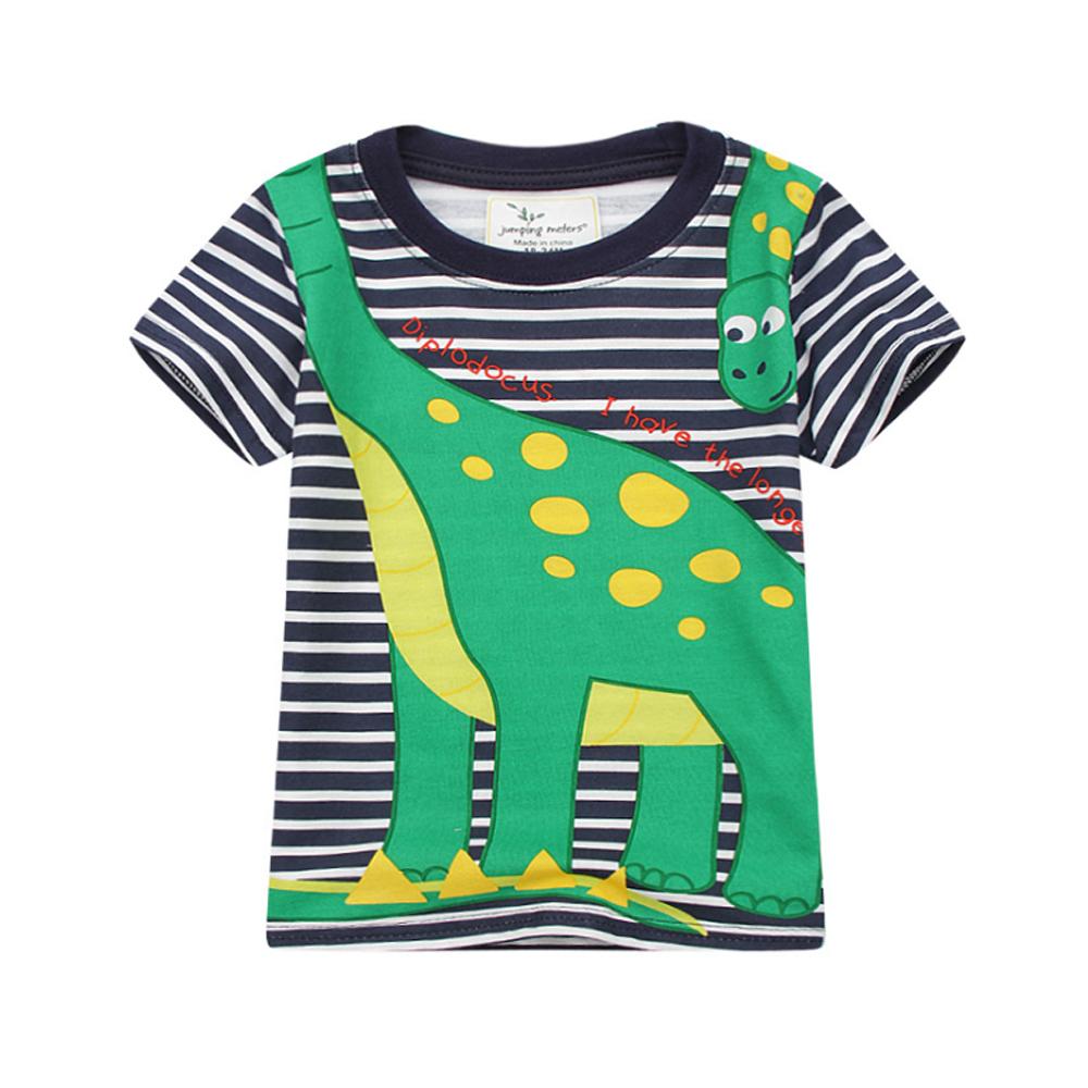 男童 恐龍霸主 純棉短袖T恤