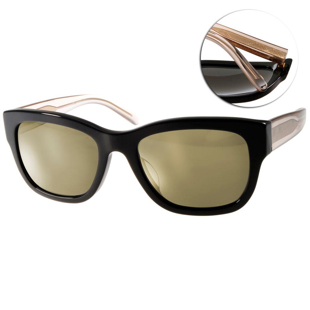 BURBERRY太陽眼鏡 歐美時尚/黑-水銀鏡面#BU4188F 35074T