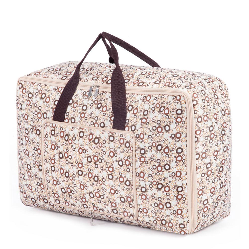 DF Queenin - 居家收納旅行收納可折疊式大容量收納袋-共2色