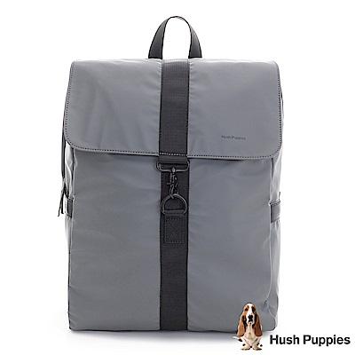 Hush Puppies CLEIN 輕量都會後背包-灰