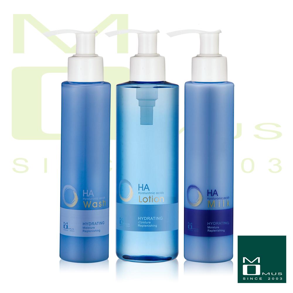 MOMUS 玻尿酸保濕基礎組(三件)